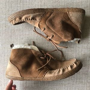 Ugg High Top Moccasins 10